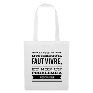 Tote Bag / Sac en tissu 100% coton, Nuréa : Mystère - Tote Bag