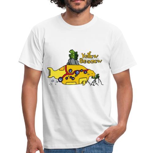 Friedem. Zschiedrich Yellow Seacow - Männer T-Shirt
