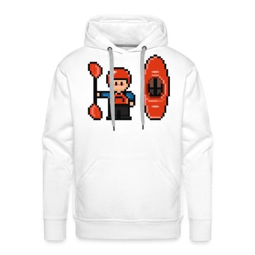 Sweatshirt Kayakiste Homme - Sweat-shirt à capuche Premium pour hommes