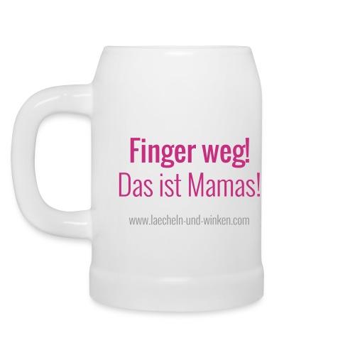 Der MEGA-LÄCHELN UND WINKEN-Kaffeebecher - Bierkrug