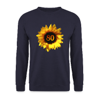 Sonnenblume zum 80. Geburtstag Pullover & Hoodies