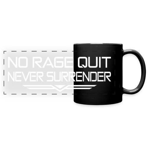 Never Surrender - Mug panoramique uni