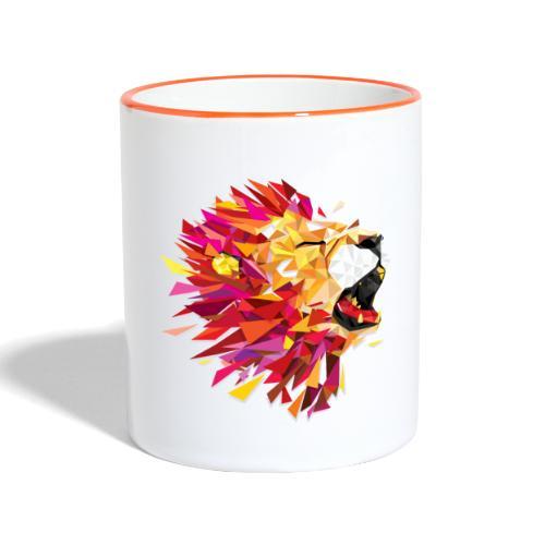 Lion - Mug contrasté