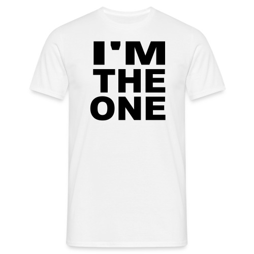 Im the one! - T-skjorte for menn