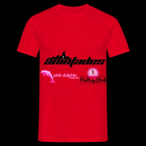 aNIofaDES logo Red Men's t-shirt - Men's T-Shirt