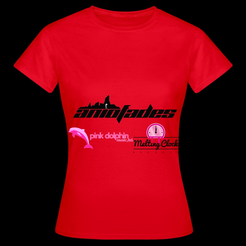 aNIofaDES logo Red Lady's t-shirt - Women's T-Shirt