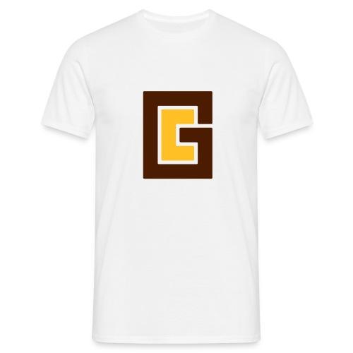 GC Brown Yellow - Men's T-Shirt