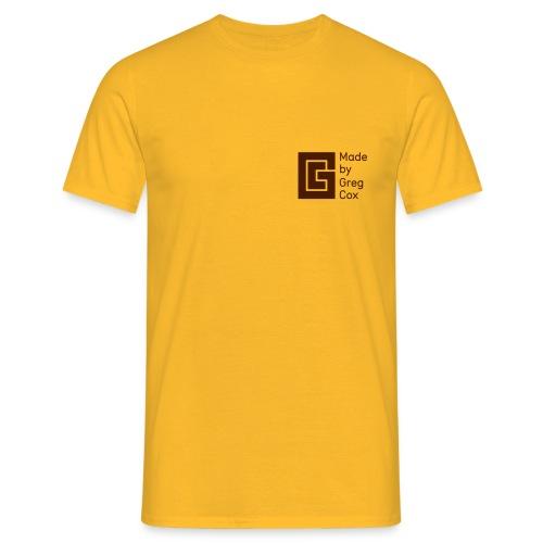 GC Brown Small Logo - Men's T-Shirt