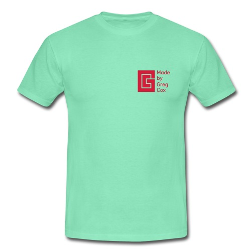 GC Red Small Logo - Men's T-Shirt