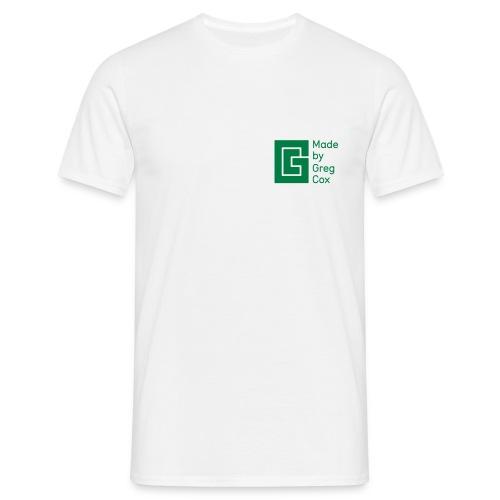 GC Green Small Logo - Men's T-Shirt