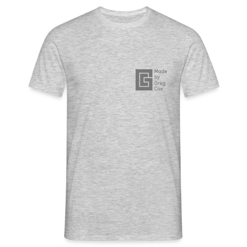 GC Grey Small Logo - Men's T-Shirt