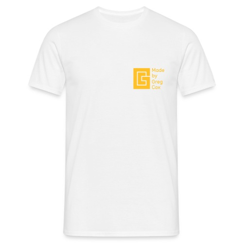 GC Yellow Small Logo - Men's T-Shirt