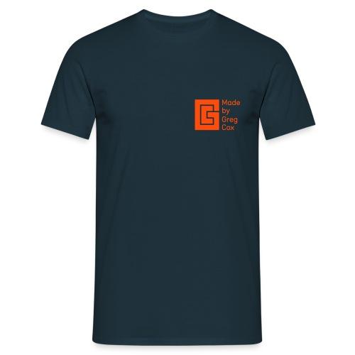 GC Neon Orange Small Logo - Men's T-Shirt