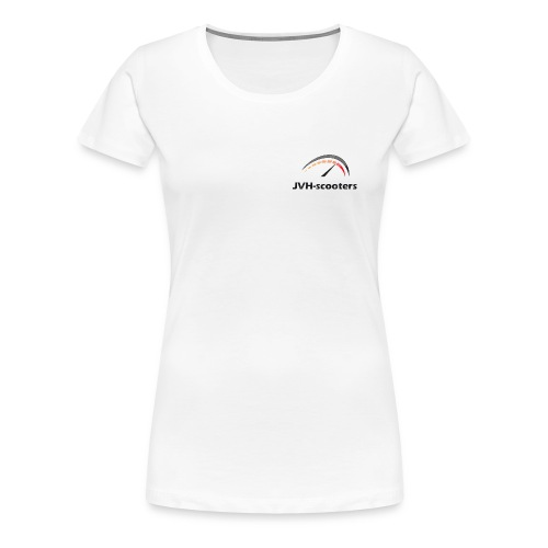 T-shirt vrouwen met JVH-scooters logo - Vrouwen Premium T-shirt