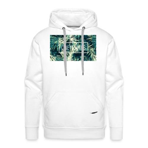 Cheyennes Palmeur (M White) - *IndianWinter Edition* - Sweat-shirt à capuche Premium pour hommes