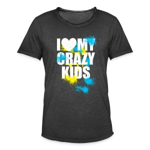 Crazy kids - T-shirt vintage Homme