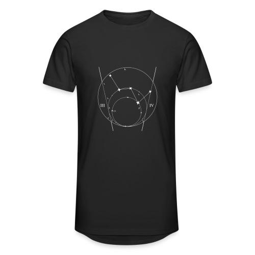 Sternkarte Longshirt schwarz - Männer Urban Longshirt