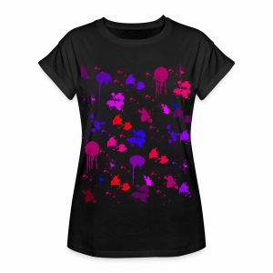 Color Spots - Frauen Oversize T-Shirt