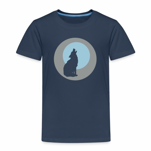 Heulender Wolf - Koszulka dziecięca Premium