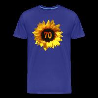 Sonnenblume zum 70. Geburtstag T-Shirts