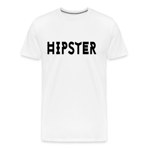 Hipster - Mannen Premium T-shirt