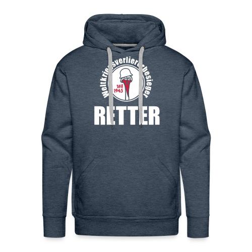 Retter-Schwitzhemd - Männer Premium Hoodie