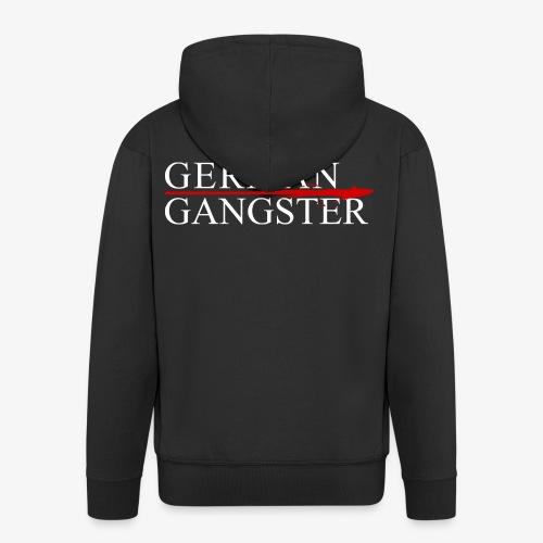 Männer Premium Kapuzenjacke German Gangster - Männer Premium Kapuzenjacke