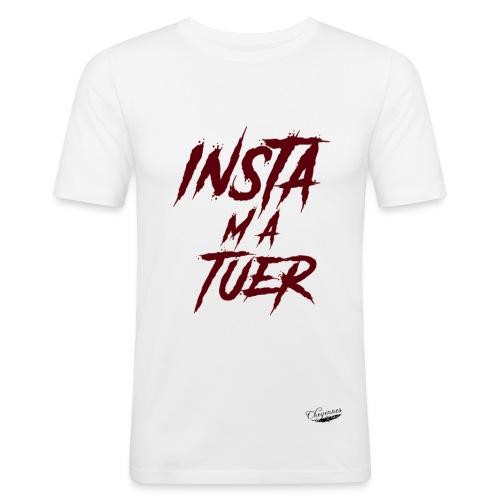 Insta m'a Tuer - *Limited Edition* - T-shirt près du corps Homme