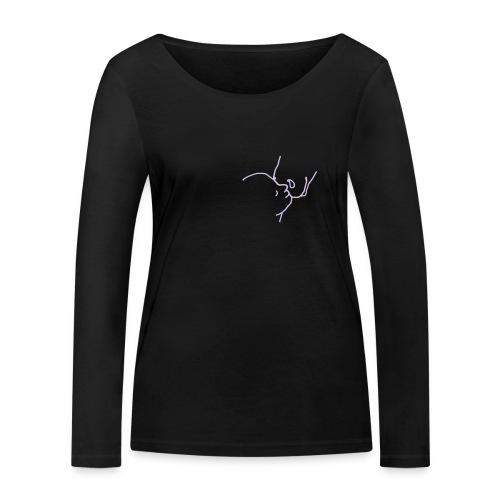 Closeness  Woman Bio Longsleeve ( Print Lavendel) - Frauen Bio-Langarmshirt von Stanley & Stella