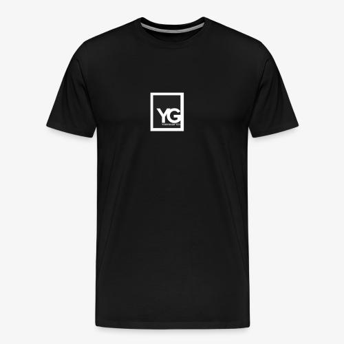 #YG 'BoxLogo' Tee - Men's Premium T-Shirt