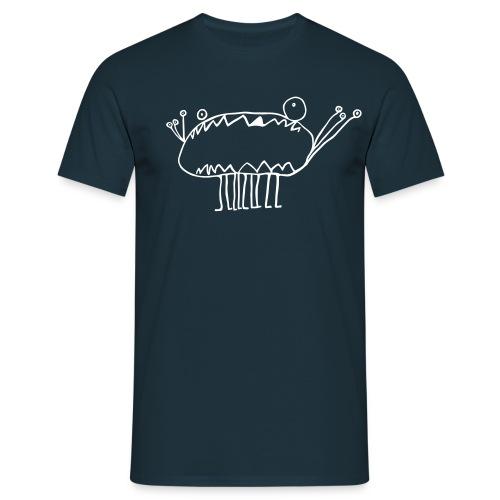 Dark Blue Monster - Men's T-Shirt