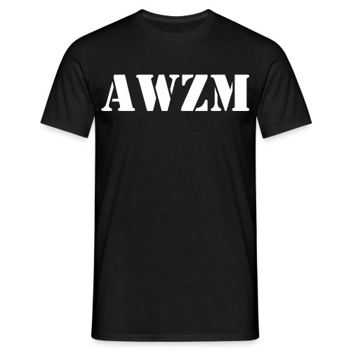 AWZM - T-skjorte for menn