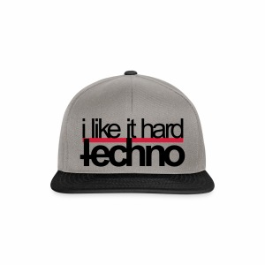 i like it hard - Cap - Snapback Cap