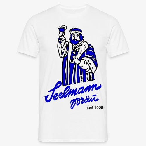 TShirt Seelmann Bräu Blau - Männer T-Shirt