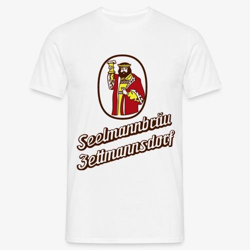 TShirt Gambrinius Brauerei Seelmann rot - Männer T-Shirt
