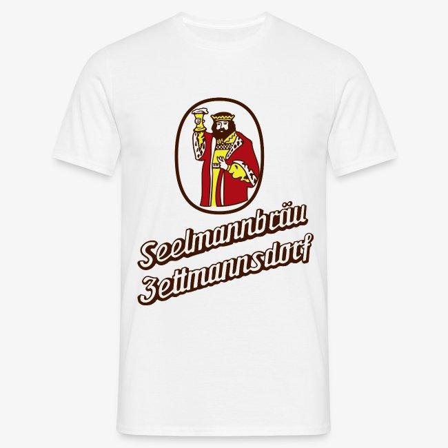 TShirt Gambrinius Brauerei Seelmann rot