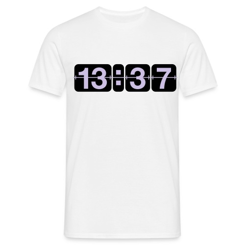 1337 - T-skjorte for menn