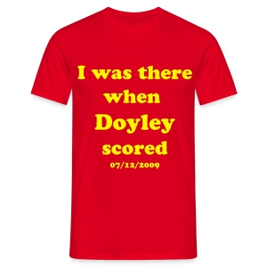 Doyley Red+Yellow - Men's T-Shirt