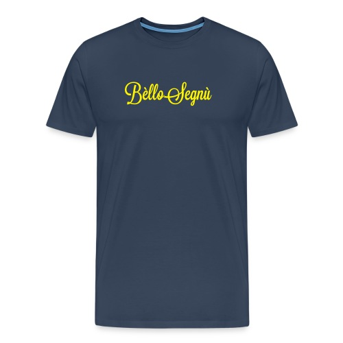 Bello Figgeu Navy - Maglietta Premium da uomo