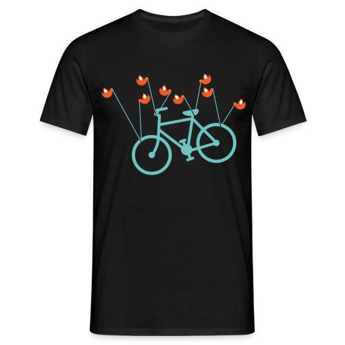 Fail bike - Mens - Black - Men's T-Shirt