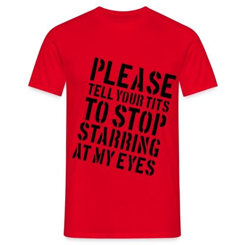 stop starring - Men's T-Shirt