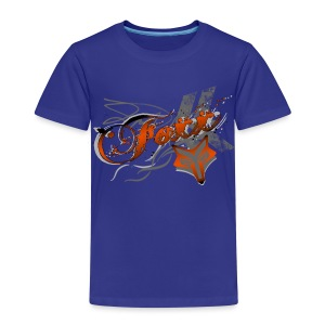 Kids Orange Foxx Tee - Kids' Premium T-Shirt