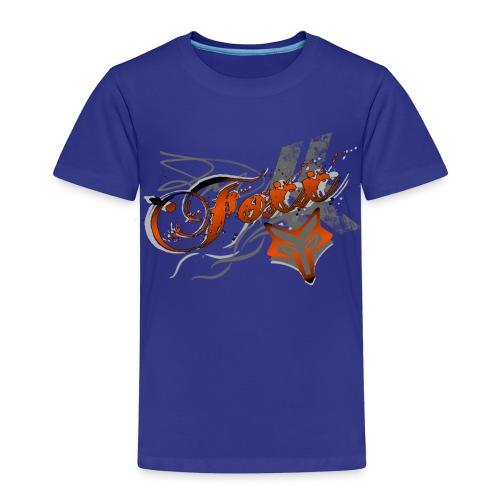 Kids Orange Foxx Tee - Kids' Premium T-Shirt