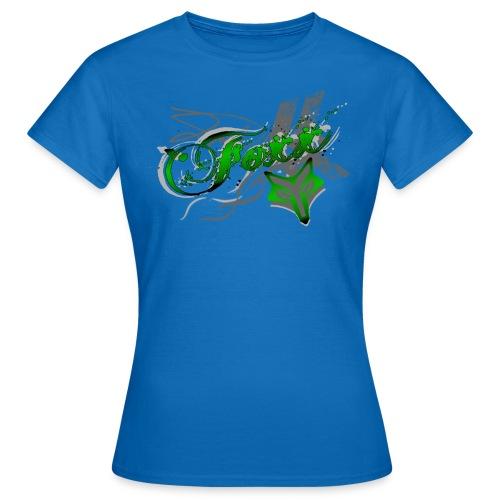 Womens Green Foxx Tee - Women's T-Shirt