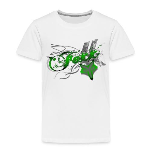 Kids Green Foxx Tee - Kids' Premium T-Shirt