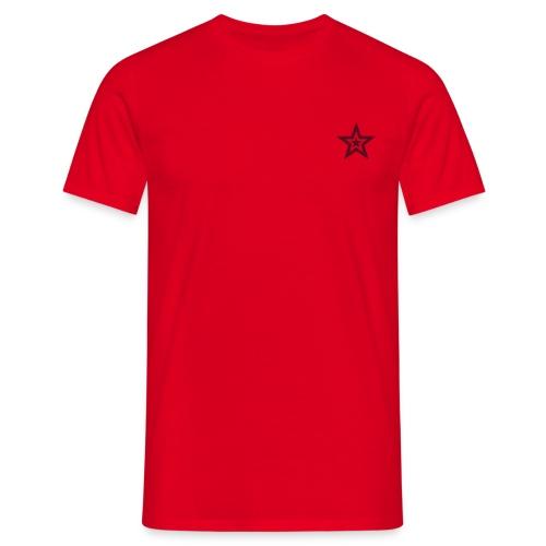 Starlight 1 - Rød - T-skjorte for menn
