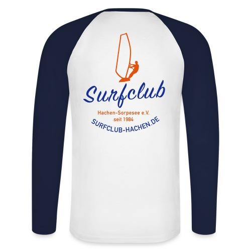 Herren-Baseball-Shirt, langarm - Männer Baseballshirt langarm