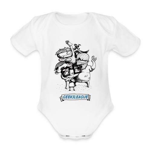 Pijama bébé - Body bébé bio manches courtes