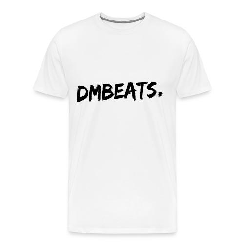 Zwart wit - Mannen Premium T-shirt