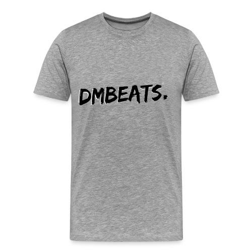Zwart grijs - Mannen Premium T-shirt